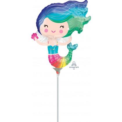 "A30 14"" Happy Mermaid Mini Shape"