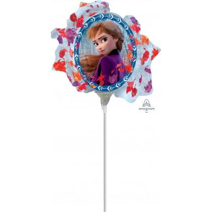 "A30 14"" Frozen Satin Mini Shape Foil Balloon"