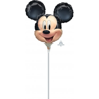 """A30 9"""" Mickey Mouse Forever Mini Shape Foil Balloon"""