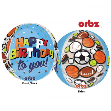 """G20 15"""" HBD To You Sports Orbz™ Clear"""
