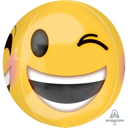"G20 15"" Winking Emoticon Orbz™ XL™"