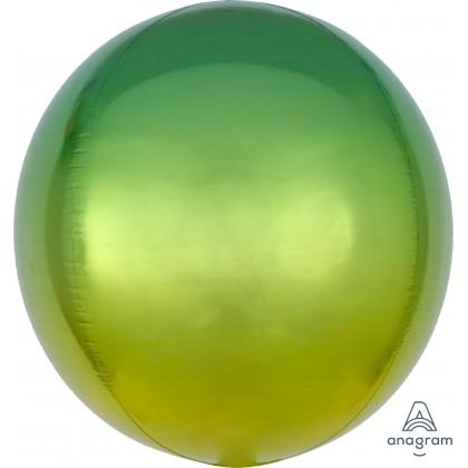 """G20 15"""" Ombré Orbz Yellow & Green Orbz™ XL™"""