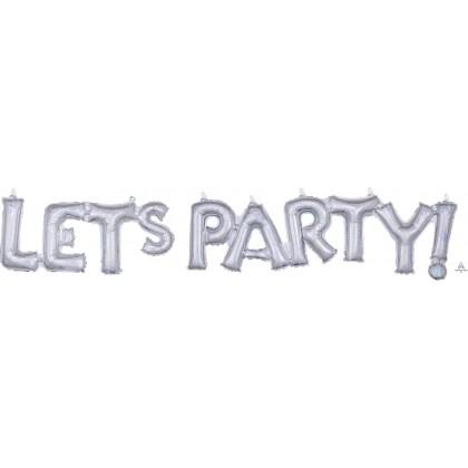 G40 (Silver Holo) Block Phrase : Let's Party