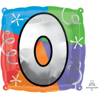 """S30 18"""" Number 0 / Letter O Quad Standard XL®"""