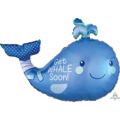 "P35 34"" Get Whale Soon SuperShape™"