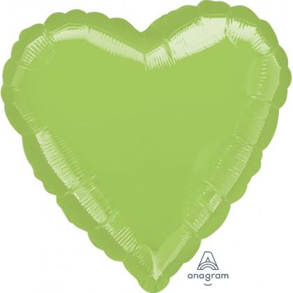 """S15 17"""" Metallic Lime Green Standard Heart HX®"""