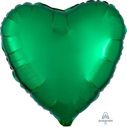 """S15 17"""" Metallic Green Standard Heart HX®"""
