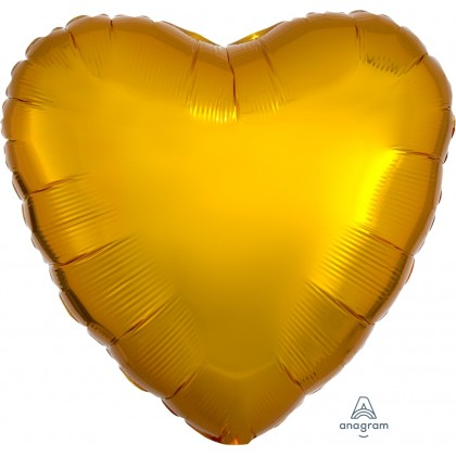 "S15 17"" Metallic Gold Standard Heart HX®"