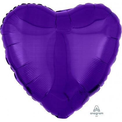 "S15 17"" Metallic Purple Standard Heart HX®"