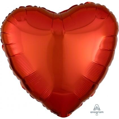 "S15 17"" Metallic Orange Standard Heart HX®"