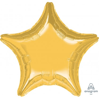 "P20 32"" Metallic Gold Jumbo Star"