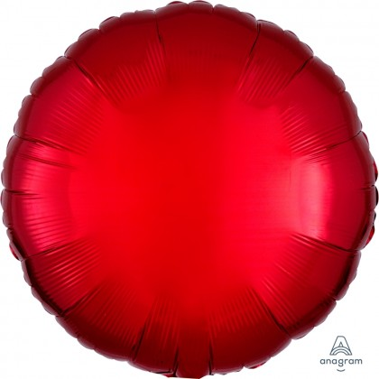 "S15 17"" Metallic Red Standard Circle XL®"