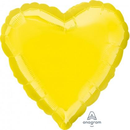 "S15 17"" Citrine Yellow Standard Heart XL®"