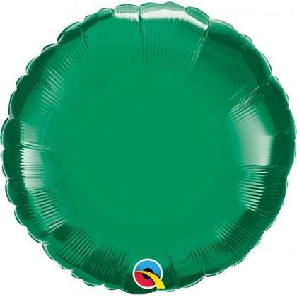 """Q 18"""" Emerald Green MircroFoil"""
