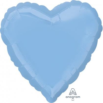 "S15 17"" Pastel Blue Standard Heart XL®"