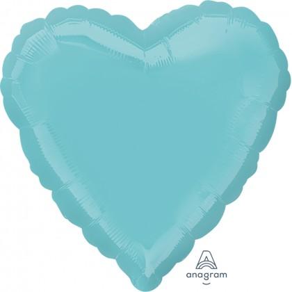 """S15 17"""" Robins Egg Blue Standard Heart XL®"""