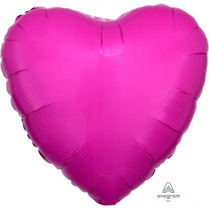 "S15 17"" Bright Bubble Gum Pink Standard Heart XL®"