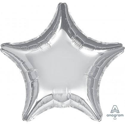 """S15 19"""" Metalliic Silver Standard Star XL®"""