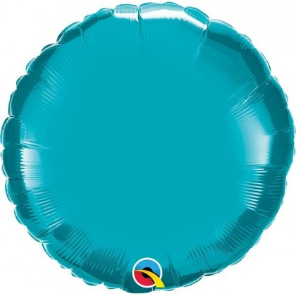 "Q 18"" Turquoise MicroFoil"