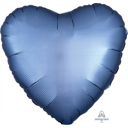 "S15 17"" Satin Luxe™ Steel Blue Standard Heart HX®"
