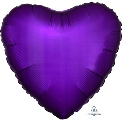 "S15 17"" Satin Luxe™ Purple Royale Standard Heart HX®"