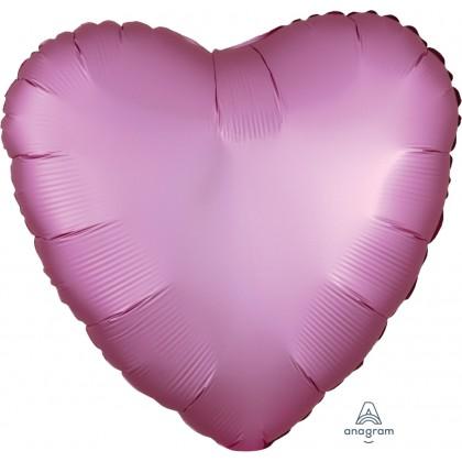 "S15 17"" Satin Luxe™ Flamingo Standard Heart HX®"