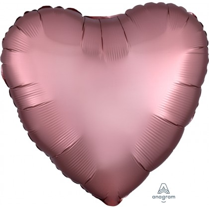 "S15 17"" Satin Luxe™ Rose Copper Standard Heart HX®"