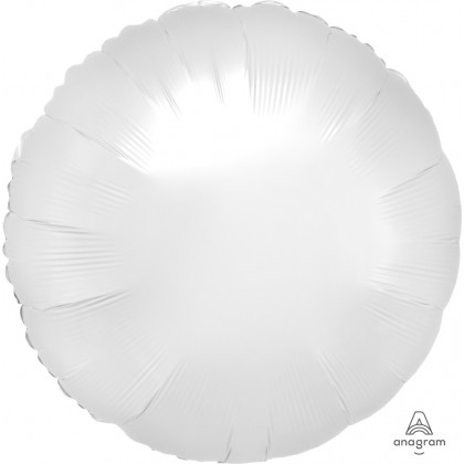 "S15 17"" Satin Luxe™ White Satin Standard Circle HX®"