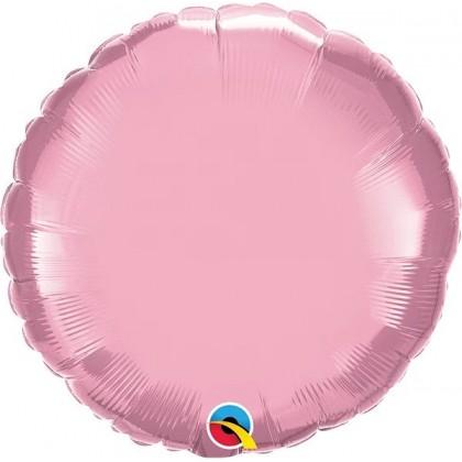 """Q 18"""" Pearl Pink MircroFoil"""