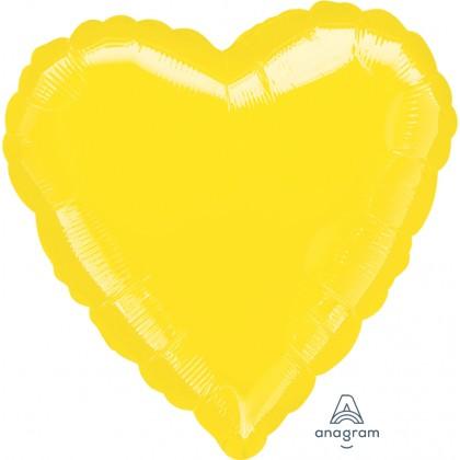 """S15 17"""" Yellow Standard Heart XL®"""