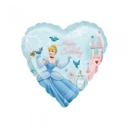"S60 17"" Cinderella Garden Happy Birthday Standard XL®"