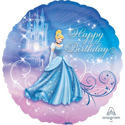 "S60 17"" Cinderella™ Happy Birthday Standard XL®"
