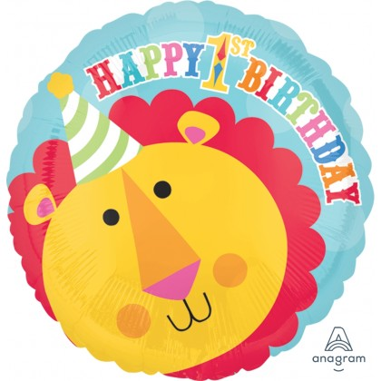 "S50 17"" Fisher-Price Lion 1st Birthday Circus Standard HX®"