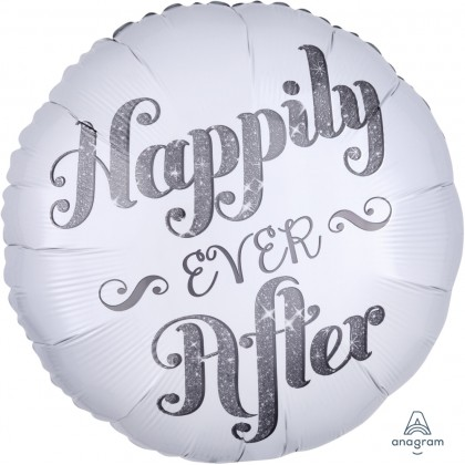 "S40 17"" Happily Ever After Shimmer Standard HX®"