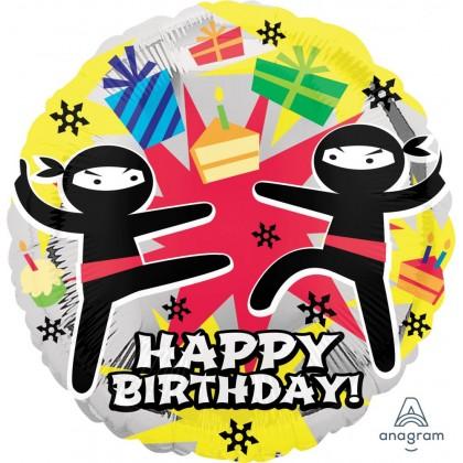 "S40 18"" Ninja Birthday Standard HX®"