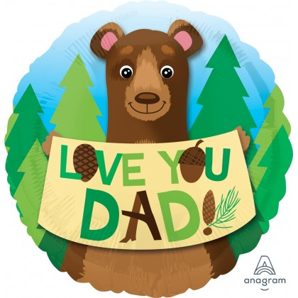 "S40 17"" Love You Dad Bear Standard HX®"