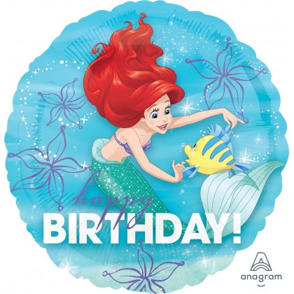 "S60 17"" Ariel™ Dream Big Happy Birthday Standard HX®"
