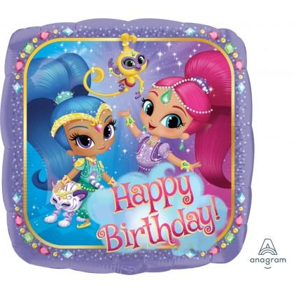 """S60 17"""" Shimmer & SHine Happy Birthday Standard HX®"""