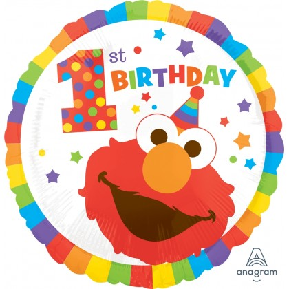 "S60 17"" Sesame Street™ 1st Birthday"