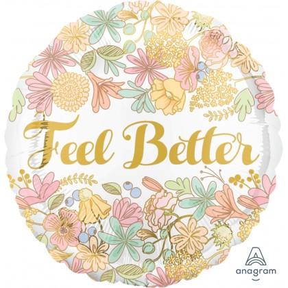 """S40 17"""" Golden Floral Feel Better Standard HX®"""