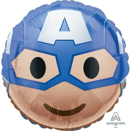 "S60 17"" Captain America Emoji Standard HX®"