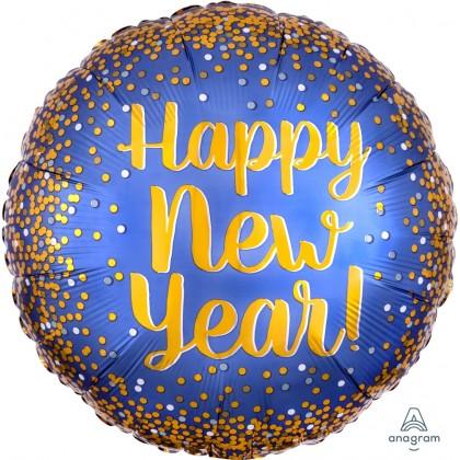 "S40 17"" Gold N Satin New YearStandard Satin XL®"