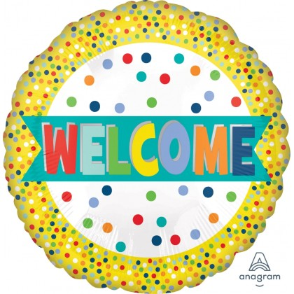"""S40 17"""" Welcome Lots of Dots Standard HX®"""