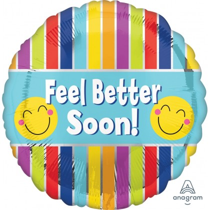 """S40 17"""" Feel Better Soon Stripes Standard HX®"""