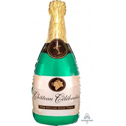 """P30 36"""" Champagne Bottle SuperShape™ XL®"""