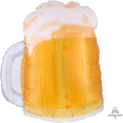 "P35 23"" Beer Mug See-Thru™ SuperShape™"