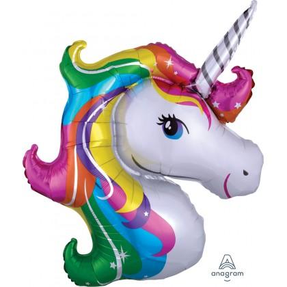 """P35 33"""" Rainbow Unicorn SuperShape™"""