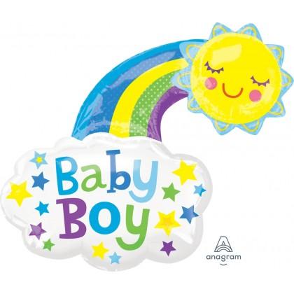 "P30 30"" Baby Girl Bright Happy Sun SuperShape™"