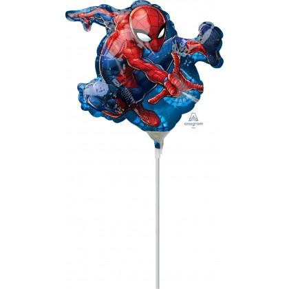 """A30 14"""" Spider-Man Foil Balloon"""