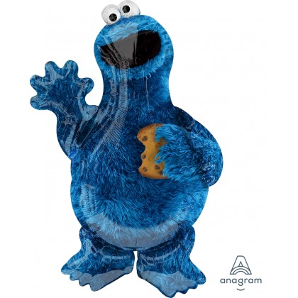 "P38 35"" Cookie Monster SuperShape™ XL®"
